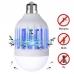 Светодиодная лампа от насекомых Zapp Light LED 15W уничтожитель комаров
