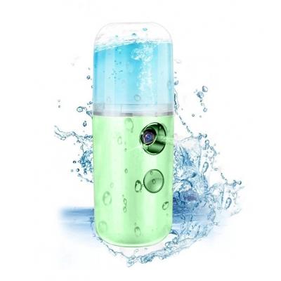 Портативный увлажнитель для кожи лица нано спрей NBZ Nano Mist Soraver 30 мл Green