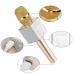 Беспроводной караоке микрофон Q9 NBZ Bluetooth USB с чехлом Gold