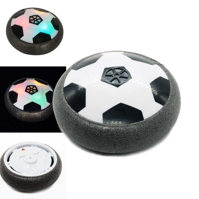 Аэромяч Hoverball Mini NBZ LED святящийся летающий мяч Аэрофутбол 11 см