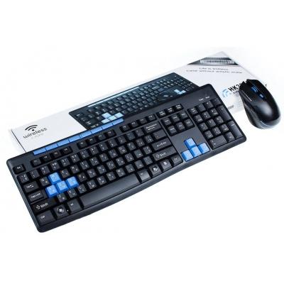 Комплект беспроводной клавиатура и мышь NBZ HK3800