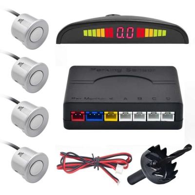 Парктроник автомобильный NBZ Assistant Parking Sensor на 4 датчика Silver