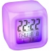 Часы будильник NBZ хамелеон с термометром