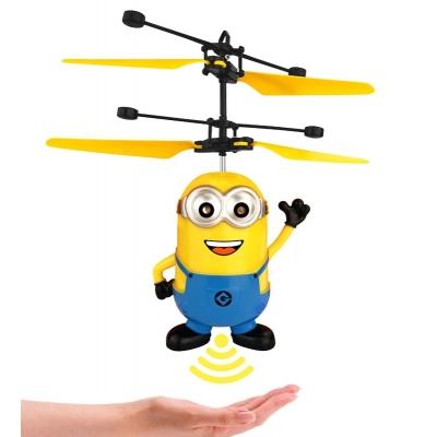 Игрушка вертолет летающий Миньон NBZ с подсветкой