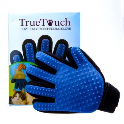 Перчатка NBZ True Touch для вычесывания шерсти