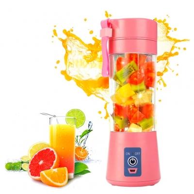 Портативный фитнес-блендер NBZ Juice Cup Smoothie Blender 2 ножа с аккумулятором Pink