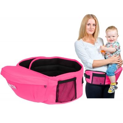 Хипсит для переноски детей NBZ Eggbaby Pink