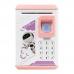 Детская электронная копилка сейф NBZ ROBOT BODYGUARD с кодовым замком и отпечатком пальца Pink