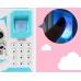 Детская электронная копилка сейф NBZ ROBOT BODYGUARD с кодовым замком и отпечатком пальца Blue