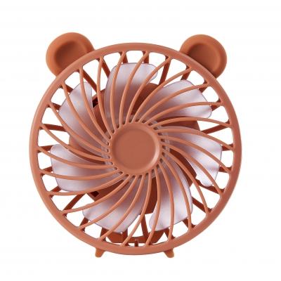 Детский портативный ручной вентилятор NBZ Maka Bear Fan Brown с аккумулятором