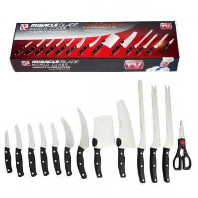 Набор профессиональных кухонных ножей Miracle Blade 13 предметов
