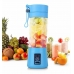 Портативный фитнес-блендер NBZ Juice Cup Smoothie Blender 2 ножа с аккумулятором Blue