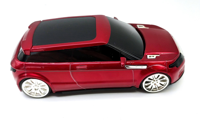 Антирадар  Full Band 360° ORIGINAL Красный  Автомобильный радар-детектор камер в виде машинки