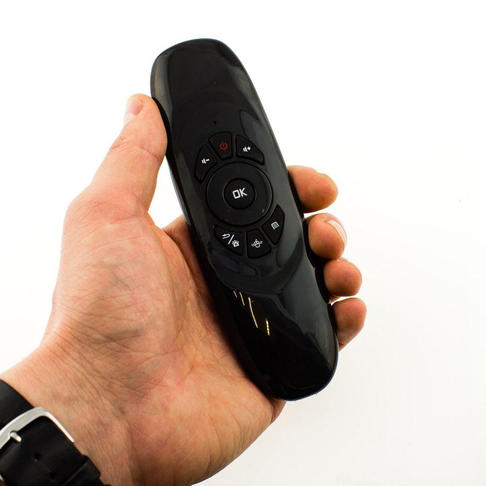 Аэромышь с англ. клавиатурой  Air Mouse i8 (c120) пульт для TV Box