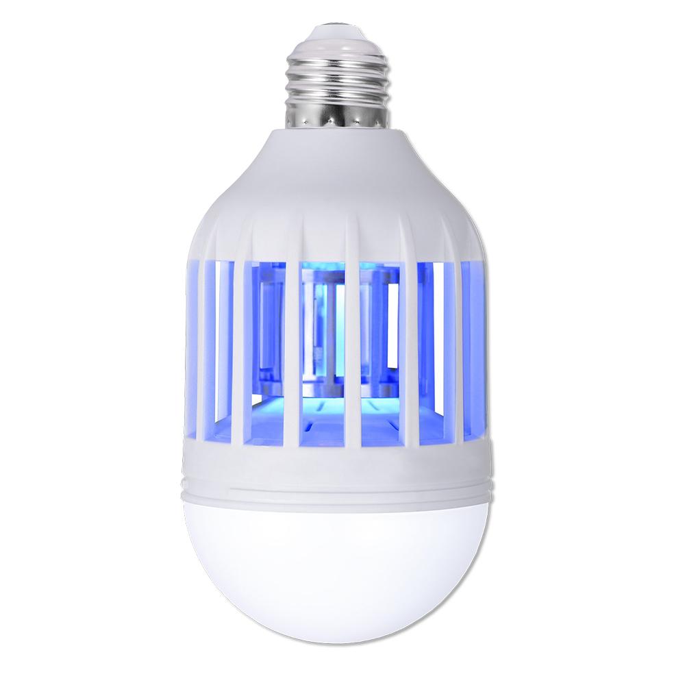 Антимоскитная лампа-светильник от комаров Zapp Light LED 15W Лампочка ловушка уничтожитель насекомых